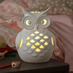 Wide Eyed Owl Nightlight | The Land of Nod