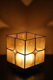 <3  Stained glass candle holder