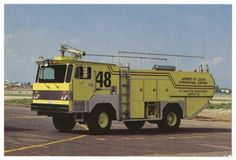 1982 Fire-X Airport Crash Fire Truck (St Louis International Airport)
