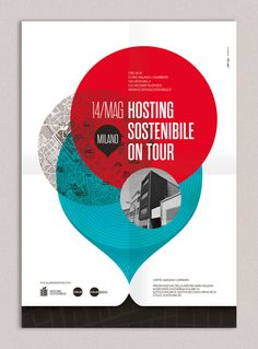 Hosting Sostenibile On Tour Poster on Behance
