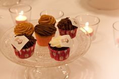 Our mini cupcakes for the Santander Cakes, Pops & Cookies cake show by NH Postres y Pasteles