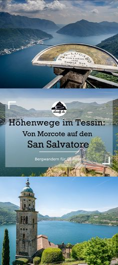 Wanderung auf den Monte San Salvatore - als nuff! Lugano, Reisen In Europa, Switzerland, German, Hiking, San, Explore, Adventure, Places