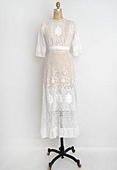 1910's wedding dress
