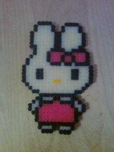 Miffy hama perler beads by toutoun20