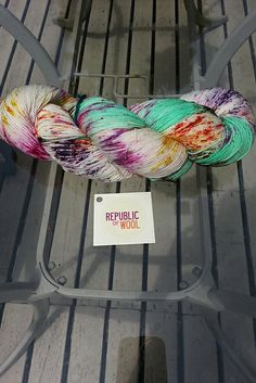 Ravelry: KathyAnne's REPUBLIC of WOOL Fingering. This yarn rocks, but I've no idea which colour board to pin this too!