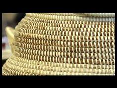 SC - Sweetgrass Basket Weaving - YouTube