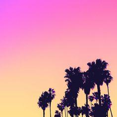 sunset beach - #candyminimal by matt crump