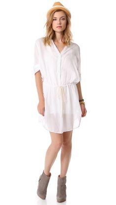 Enza Costa Henley Tunic / Dress
