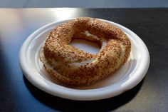 Simit from Simit & Smith on the Upper West Side.