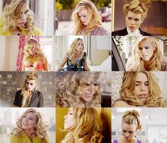 Love her.  The many hairstyles of Hannah Baxter on Secret Diary of a Callgirl, seen on Billie Piper.