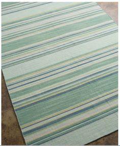 New rug for my bedroom. Beautiful sea glass colors.  http://www.seasideinspired.com/4131-coastal-living-kiawah-rug.htm
