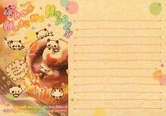 "Kamio ""That Made Me Happy"" Memo (Sheet) (4) | by Crazy Sugarbunny"