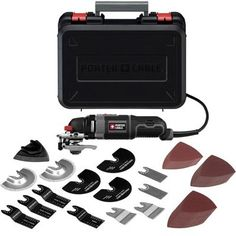 Porter Cable Oscillating Tool Kit 52 Accessories View One