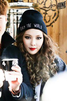 #Hyuna #4MINUTE #visual