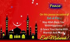 Beautiful Eid Mubarak Wishes Greeting Ecard Eid Greeting Cards, Ramadan Images, Eid Mubarak Wishes, Eid Mubarak Greetings, Happy Eid, Ecards, Islam, Blessed, Quote