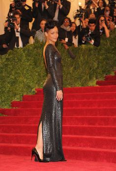 Rihanna in Tom Ford at the Met Gala