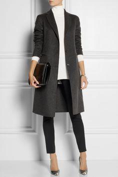Bottega Veneta|Brushed-cashmere coat |NET-A-PORTER.COM