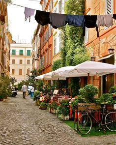 Trastevere Rome - Italy Photo -Wall Decor. $75.00,