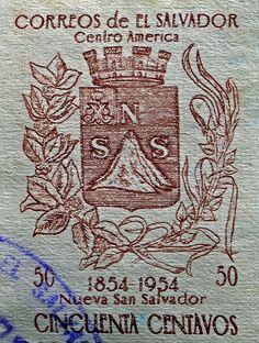 1954 El Salvador Stamp