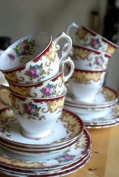 Tuscan fine english bone china tea set