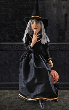Clarice Witch Doll Gathered Traditions