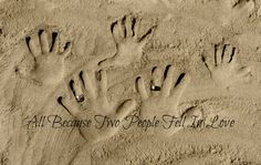 family hand pic I took on north topsail beach.....