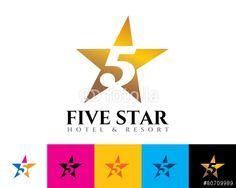 Vector: five star