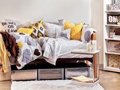 Dorm Room Decorating Ideas & Decor Essentials from HGTV >> http://www.hgtv.com/design/decorating/design-101/20-chic-and-functional-dorm-room-decorating-ideas-pictures?soc=pinterest