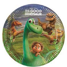 Disney The Good Dinosaur bordjes ø 23 cm. 8 st.