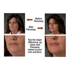 Flex away facial exercise