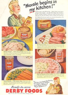 Ox Tongue and Pig's Feet Tidbits boost morale during WW2