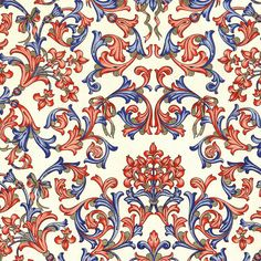 Rossi Traditional Florentine Paper  Lilies by PaperTreeSupplies, £1.95