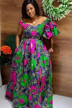 African Maxi Dresses, Latest African Fashion Dresses, African Print Fashion, African Clothes, African Prints, African Wear, Designer Dresses, Gowns, Summer Dresses