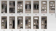Modern Ideas Of Arrange and Design The Wardrobes and Closets - Decor Units