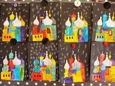 activité maternelle sur la russie - Recherche Google Elementary My Dear Watson, Elementary Art, Russia Day, International Craft, Creative Activities For Kids, Building Art, Russian Art, Preschool Art, Teaching Art