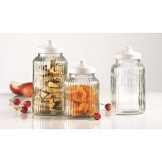 Malta Canisters with Screw Lids - MD