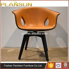 Newly Style Poltrona Frau Ginger Fiberglass Chair with Swivel Function