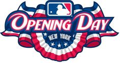 """Opening Day: change the Openning day or """"Sports Day""""  and the baseball logo to your own party visuals.  Change NY to Hong Kong"""