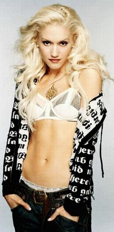 Gwen Stefani... my idol love her, her style, voice, talent, energy & overall as a person down to earth and lastly a great mother!!!