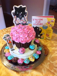 If you give a cat a cupcake cake