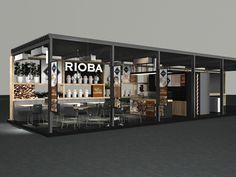 coffee shop kiosk design