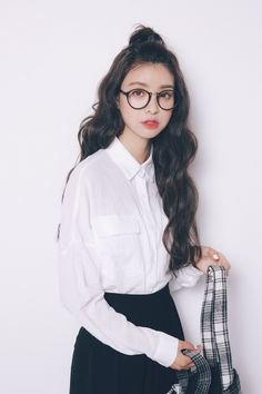 Dongguk door 2016 autumn new students a solid color large pocket loose long-sleeved shirt female shirt was thin BF - Taobao global Station
