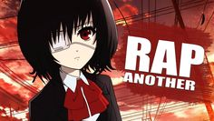 RAP DE ANOTHER - No Estamos Solos | Rapnime -  Briox MC Rap, Videos Anime, Board, Wraps, Rap Music