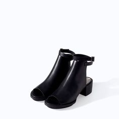 cut-out heel booties from Zara | skirttheceiling.com