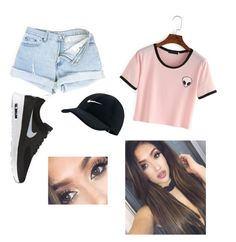 Designer Clothes, Shoes & Bags for Women Bowling, Aliens, Crop Tops, Shoe Bag, Nike, Polyvore, People, Stuff To Buy, Shopping