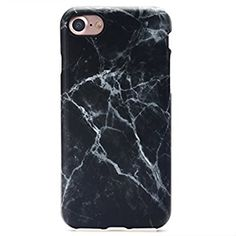 Amazon.com: GOLINK iPhone 7 Case/iPhone 8 Case, Slim-Fit Anti-Scratch Shock Proof Anti-Finger Print Flexible TPU Gel Case For iPhone 7/iPhone 8 - Black Marble III: Cell Phones & Accessories