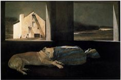 Andrew Wyeth「Night Sleeper」