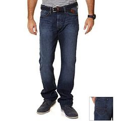 Nautica® Men's Glacier Blue Relaxed/Easy-Fit Denim