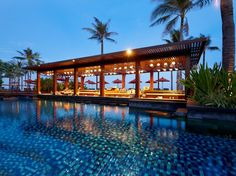 ST. REGIS BALI Nusa Dua, Bali, Indonesia  Sip on a Bali Mary while overlooking the Indian Ocean at Vista Bar, the St. Regis Bali's hip pool bar. (Of course, if you can't check out completely, you can also use the bar's free Wi-Fi—drink in hand.)