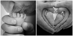 Photographing Newborn Feet
